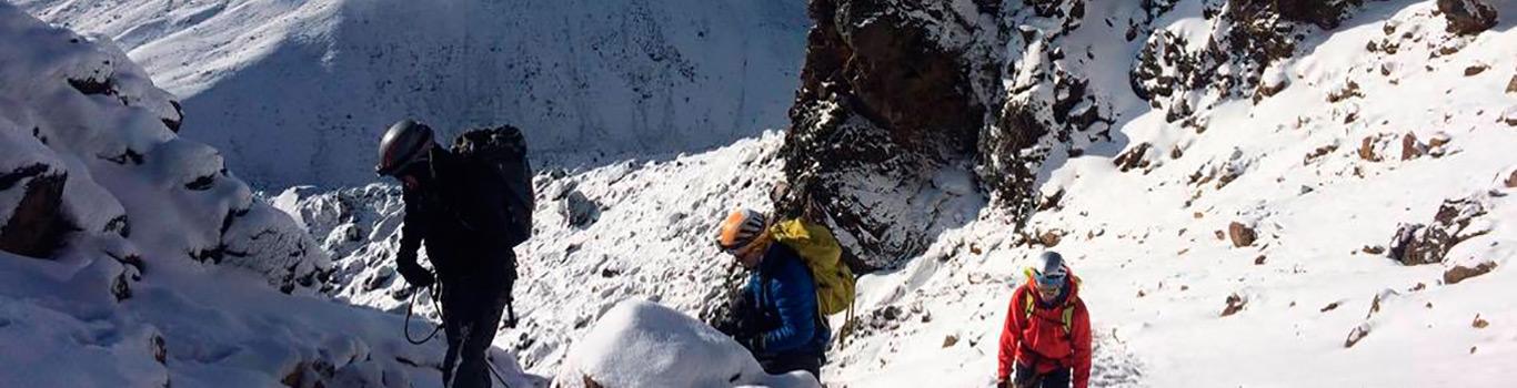 Mountaineering School in Ecuador - Climbing Chimborazo Ecuador